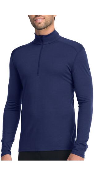 Icebreaker Oasis LS Half Zip Shirt Men admiral